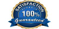 100 % Customer Satisfaction Guaranteed