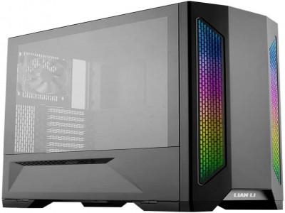 LIAN LI LANCOOL 2 Black Tempered Glass ATX Case -Black Color -LANCOOL II -X